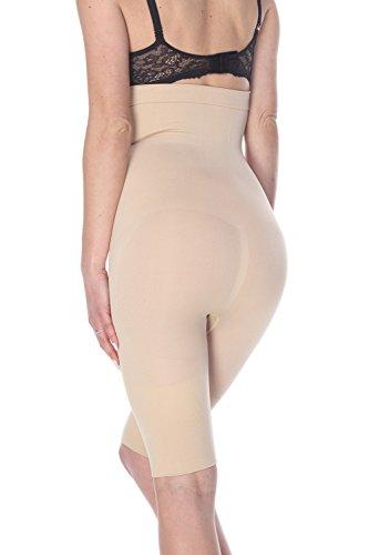 2a7253b97 La Reve Tummy Control Shapewear for Women – High Waist Thigh Slimmer Body  Shaper