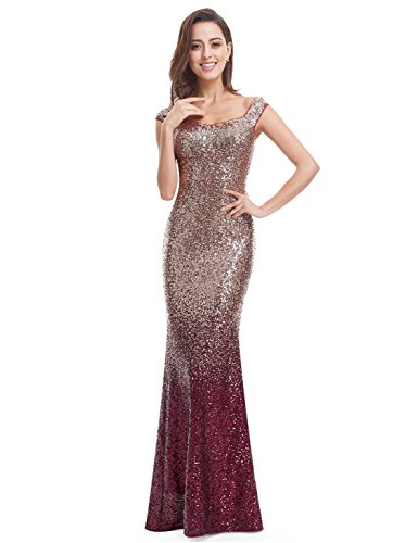 Ever Pretty Womens Long Sequins Formal Maxi Dress 14 Us Red Best