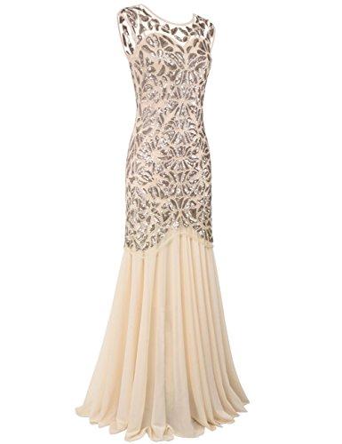 Prettyguide Women S 1920s Art Deco Sequin Gatsby Formal Evening