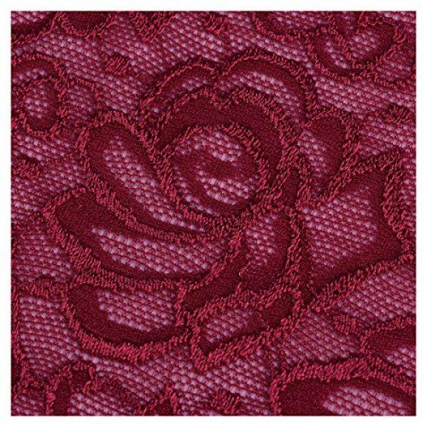 693b8b9fc639e MIUSOL Women's Retro Floral Lace Halter Ruched Wedding Maxi Dress ...