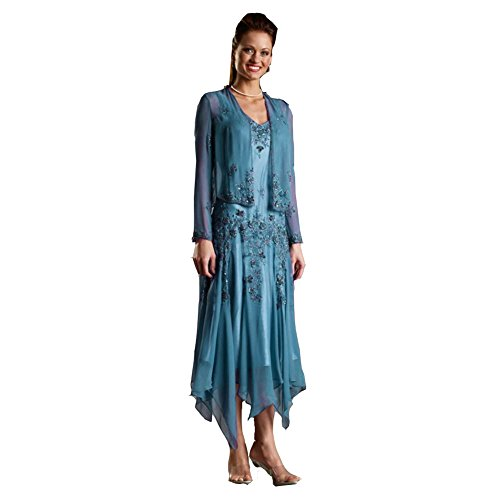 Ai Maria Women's Sweetheart Lace Mother of The Bride Dresses With Jacket