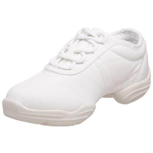 Capezio  Canvas Dance Sneaker,White,9 M US