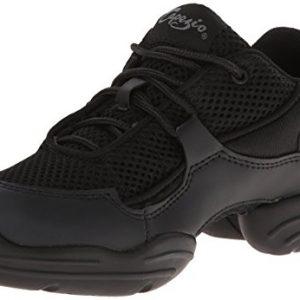 Capezio Women's DS11 Fierce Dance Sneaker,Black,6.5 M US