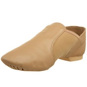 "Capezio Women's ""E"" Series Jazz Slip-On,Caramel,8.5 M US"