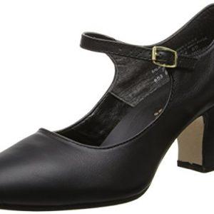 Capezio Women's Manhattan Character Shoe,Black,11 W US