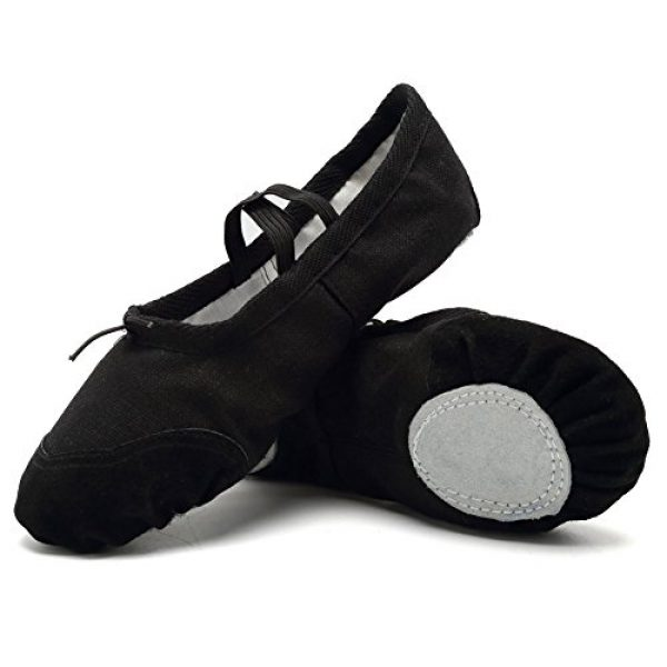 c4242ca9eb93 CIOR Ballet Slippers for Girls Classic Split-Sole Canvas Dance Gymnastics  Yoga Shoes Flats(