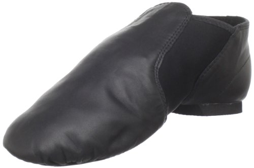 Dance Class Women's GB101 Spandex Gore Jazz Shoe,Black,7 M US