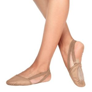 Leather Dance Half Sole,T8970TANM,Tan,Medium