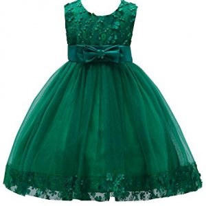 3fcf391fdd2a Pageant Dress for Girls 7-16 Special Occasion Tops Christmas Sleeveless  Knee Little Girl Dresses