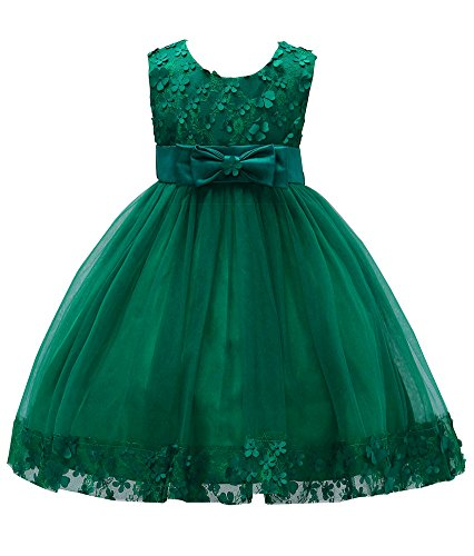 a18ec2605 Pageant Dress for Girls 7-16 Special Occasion Tops Christmas Sleeveless  Knee Little Girl Dresses