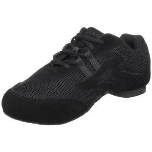 Sansha Salsette 1 Jazz Sneaker,Black,12 Sansha (10 M US Women's/7 M US Men's)