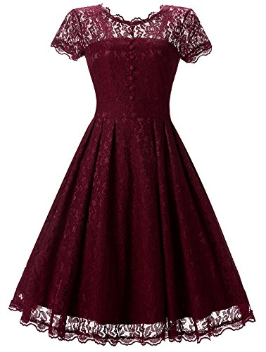 Womens Vintage Bridesmaid Formal Dresses For Women Wedding Party
