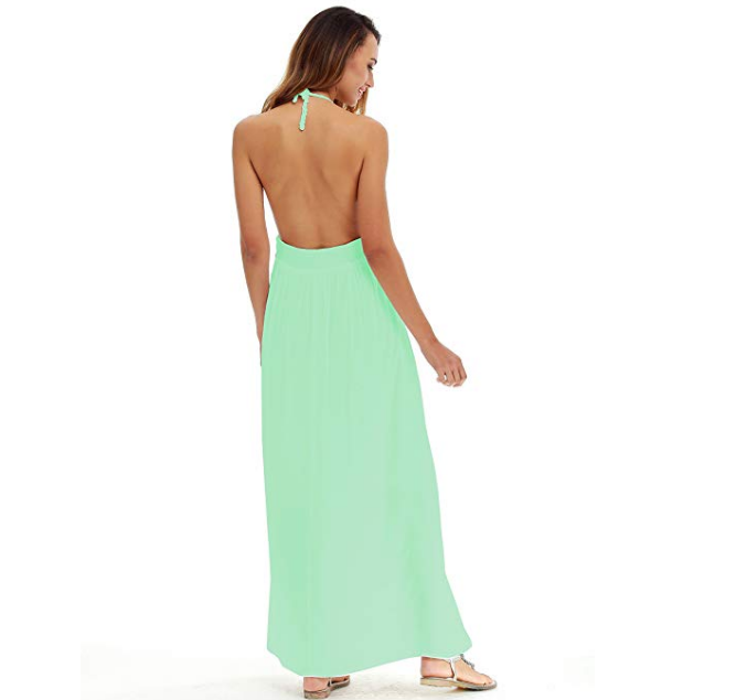 Backless Long Dresses