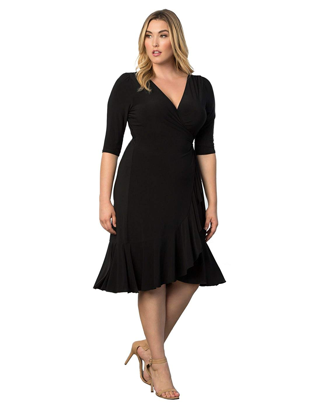 Women's Plus Size Whimsy Wrap Dress
