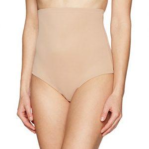 Arabella Women's Shaping High-Waist Brief Shapewear with Tummy Control, Nude, XX-Large