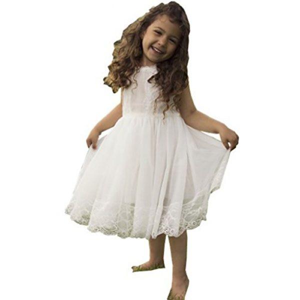 Off White Flower Girl Dresses