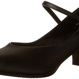 Capezio Women's Jr. Footlight Character Shoe,Black,8 M US