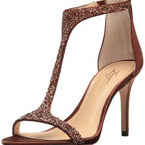 Imagine Vince Camuto Women's Im-Phoebe Dress Sandal, Bronze, 6.5 M US