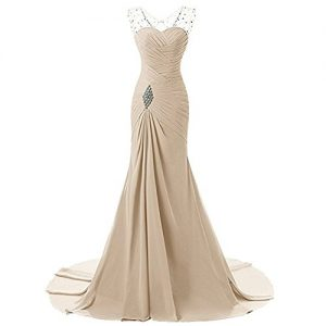 Lily Wedding Sheath Sweetheart Long Bridesmaid Party Evening Dresses Prom Ball Gown Champagne Size20 Plus