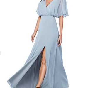 Mr Right New Arrival Bridesmaid Dresses Long Backless Wedding Party Dress