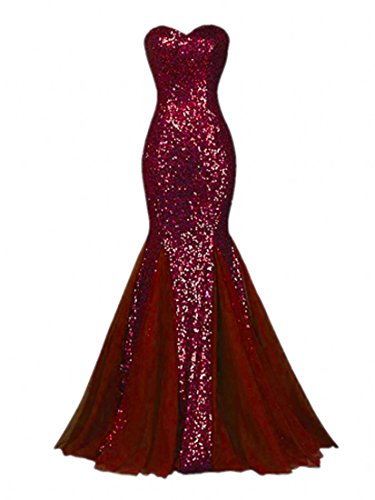 Raniwish Sparkly Evening Prom Ball Gown Sequins Mermaid